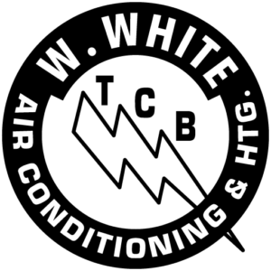 w white air conditioning logo